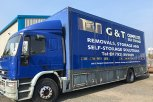 G&T Removals and Deliveries van